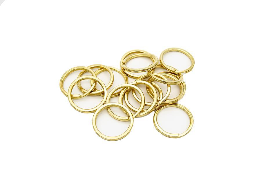 Anahtarlık Halkası (Mak100) 2,6 cm İç Ölçü 3,3 Dış Ölçü Nikel ve Gold Renk ( 1 Adet Fiyatıdır)