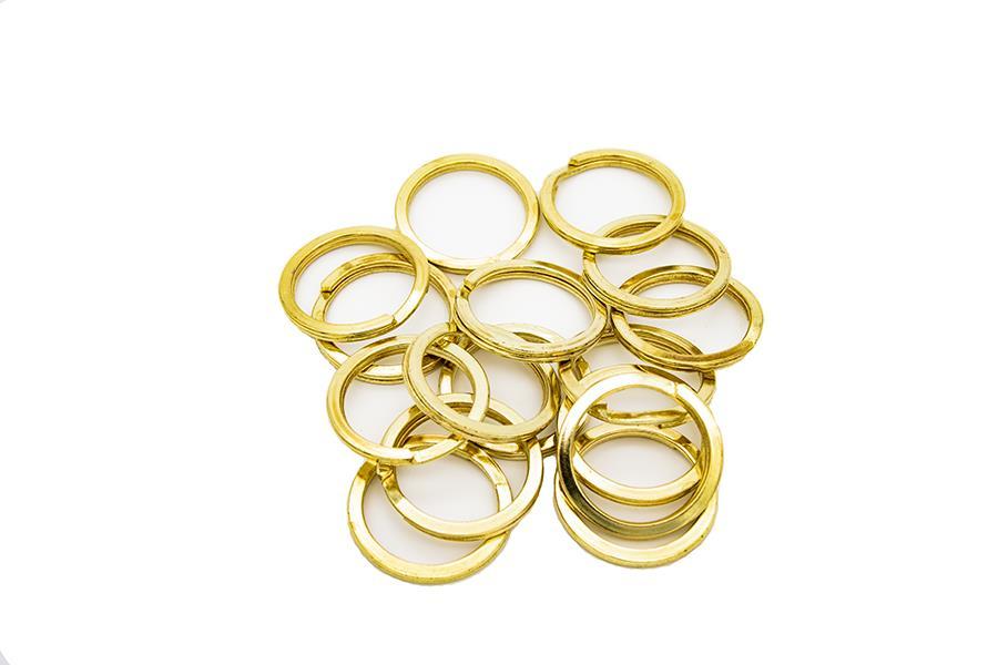 Anahtarlık Halkası (Mak101) 2,6 cm İç Ölçü 3,4 cm Dış Ölçü Nikel ve Gold Renk ( 1 Adet Fiyatıdır)