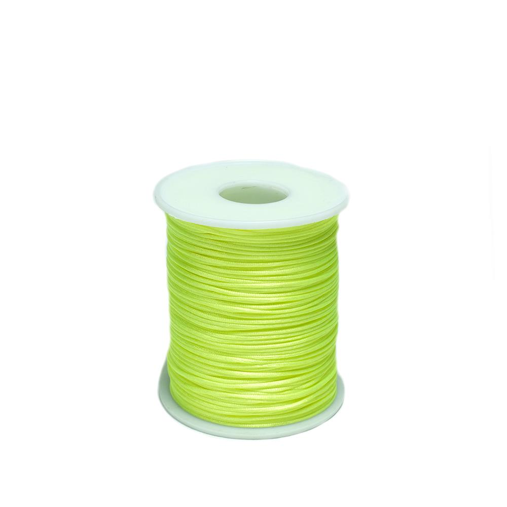 İnce Floş İp Fosfor Yeşil Renk 1 Makara