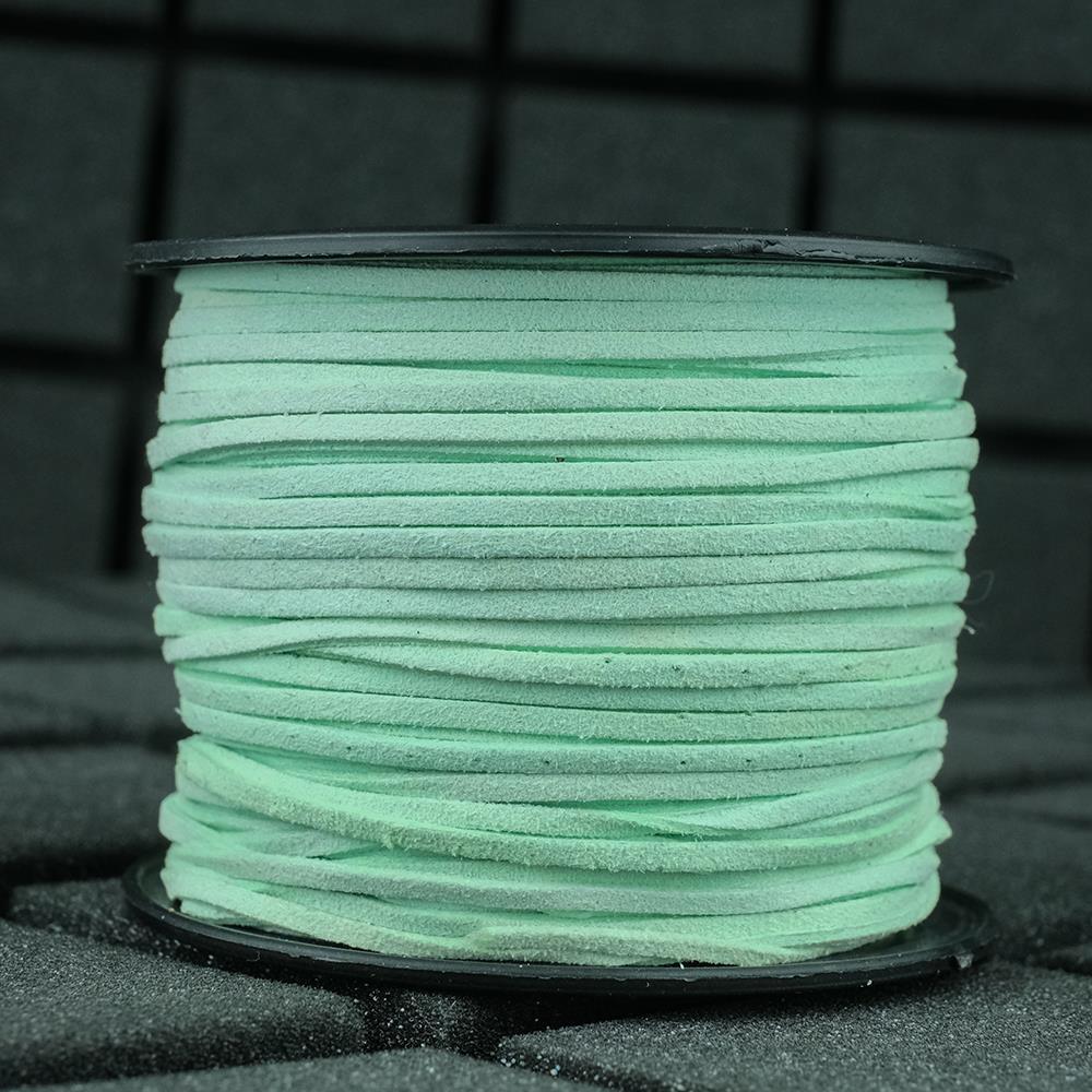 Süet İp Mint Rengi 2mm Genişlik