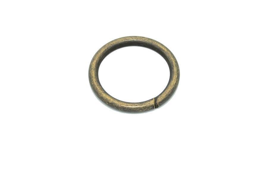 Yuvarlak Tasma Halkası (Mak 105) 2,6 cm İç Ölçü 3,4 cm Dış Ölçü Nikel,Gold,Antik Renk )1 Adet Fiyatıdır)