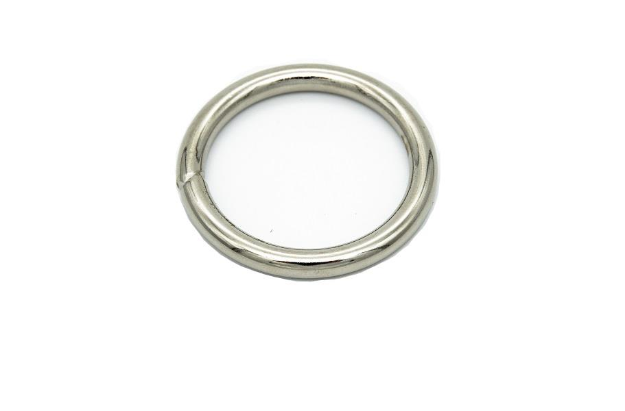 Yuvarlak Tasma Halkası (Mak 104) 3,8 cm İç Ölçü 5 cm Dış Ölçü Nikel,Gold,Antik Renk )1 Adet Fiyatıdır)